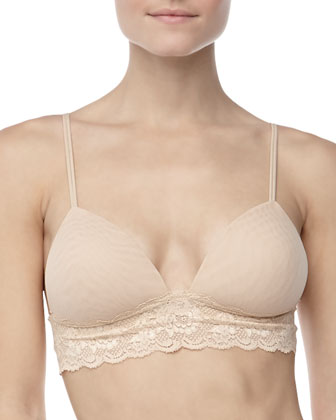 Never Say Never Softie Padded Bra & Cutie Low-Rise Thong