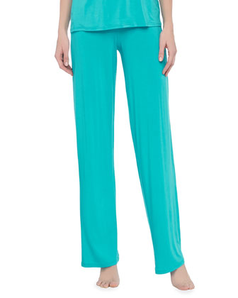 Antonietta Wide-Leg Pajama Pants
