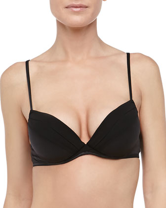 Basic Silk Push-Up Bra