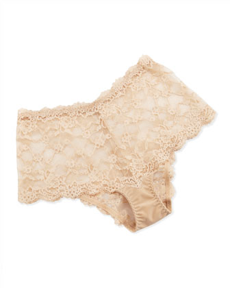 Supporting Role Lace Brief
