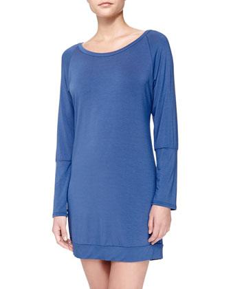 Studio Elodie Lace-Back Sleep Shirt