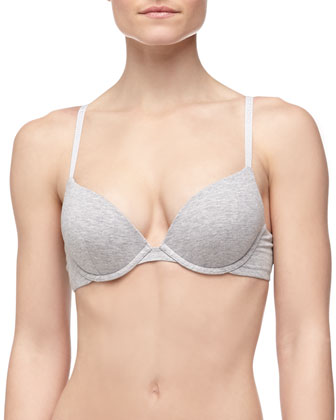 Clara Basic Cotton Push-Up Bra