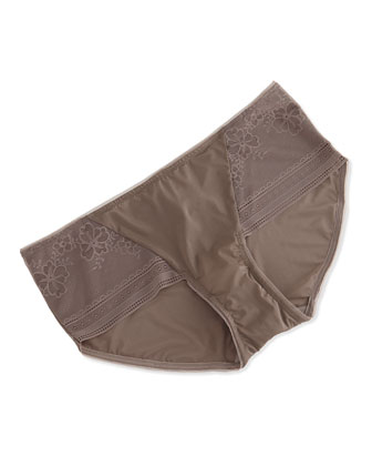 Finishing Touch Hipster Briefs, Cappuccino