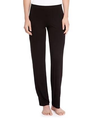 Talco Jersey Straight-Leg Pants