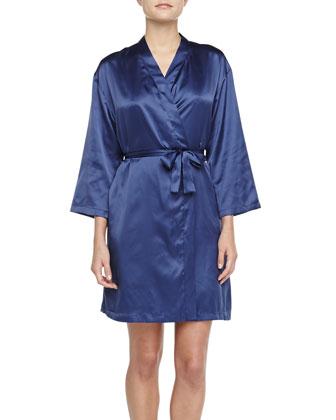 Silk Wrap Robe, Twilight