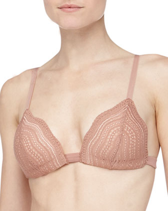 Dolce Triangle Soft Push Up Bra, Hazel