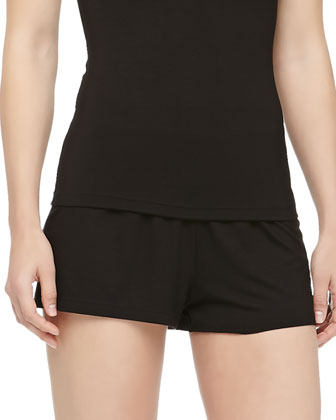 Talco Jersey Boxer Shorts, Black