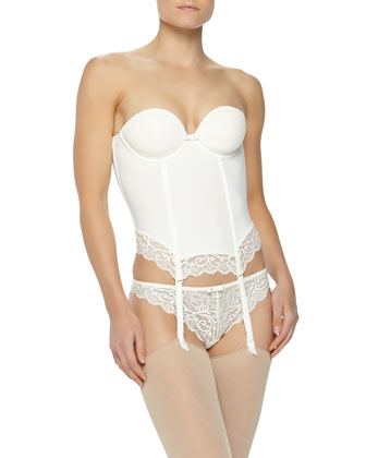 Celeste Smooth-Cup Plunge Bustier
