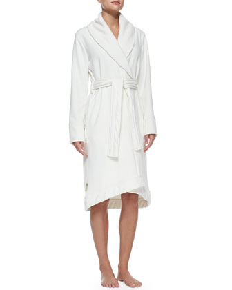 Duffield Shawl Collar Robe, Cream