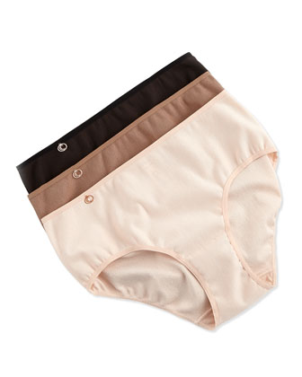 C Natural Basic Hipster Briefs