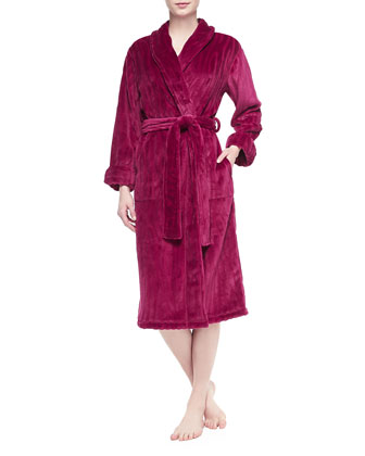 Imperial Plush Pile Robe, Dhalia