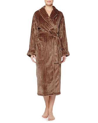 Imperial Shawl Collar Robe, Gingerbread