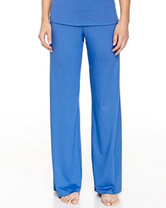 Talco Soft Jersey Pants, Zaffiro