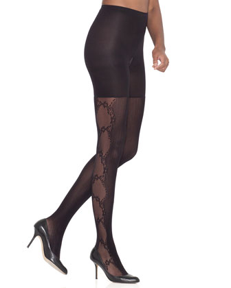 Uptown Tight End?? Fishnet Flair Tights