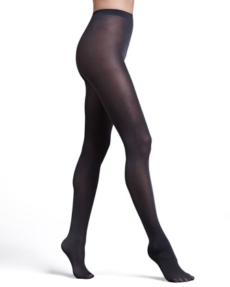 Satin Opaque 50 Tights, Anthracite