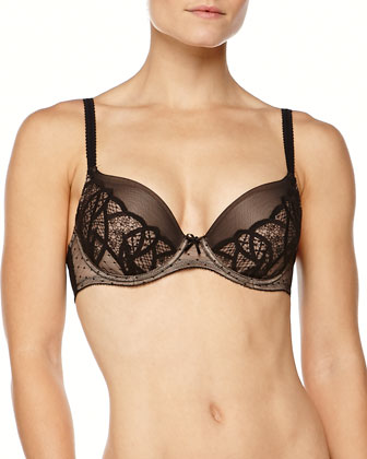 Simply Sultry Lace Contour Bra