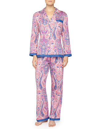 Marrakech Sateen Pajama Set
