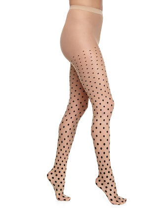 Leonie Polka Dot Tights