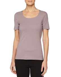 Pure Short-Sleeve Top
