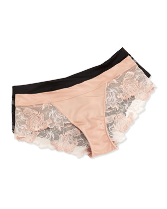 In Bloom Lace Tanga Briefs