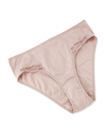 Roma High-Cut Briefs, Maple Sugar
