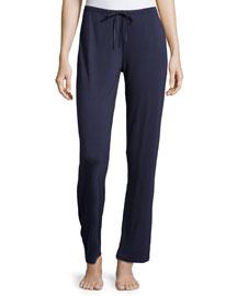 Primula Drawstring Lounge Pants, Blue
