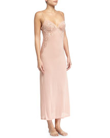 Begonia Lace Long Gown