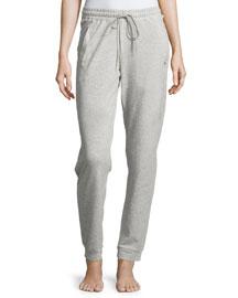Yoga Fashion Drawstring Pants, Light Gray