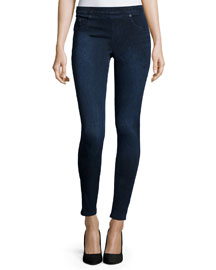 Jean-Ish Denim Leggings, Twilight Rinse