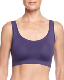 Touch Feeling Crop Top, Royal