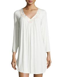 Luxe Jersey Knit Sleep Shirt