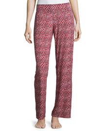 Plume Print Sleep Pants