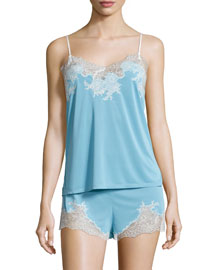 Enchant Nightie Two-Piece Set, Light French Blue
