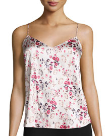 Ellie Leaping Floral-Print PJ Camisole