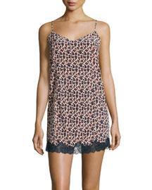 Ellie Leaping Chemise, Pink Clay/Night Sky