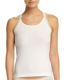 Purity Lace-Combo Tank Top, White