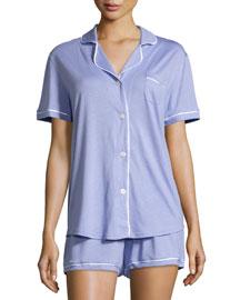 Bella Short-Sleeve Pajama Set
