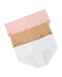 Seamless 3-Piece Bikini Brief Set