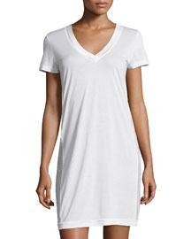 Myrta Short-Sleeve Sleepshirt