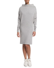 All In One Convertible Dress, Gray