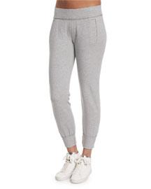 Classic Stretch Jogger Pants, Gray