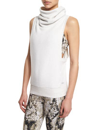 Haven Turtleneck Sleeveless Sport Tank