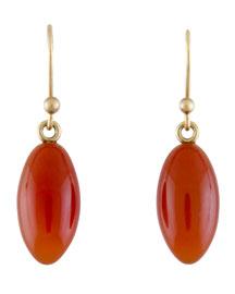 Carnelian Berry Earrings
