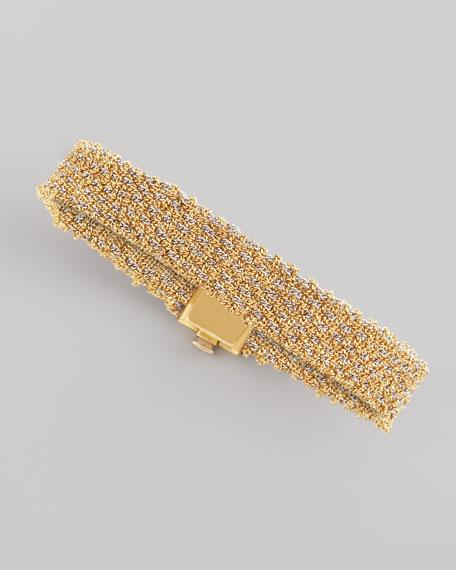 8acc3cc99f531 ALL GOLD WOVEN BRACELET NAR