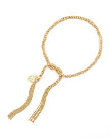 Lucky Peace 18k Gold Bracelet, Beige