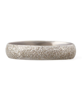 Mirador 18kt White Gold Sparkly Ring