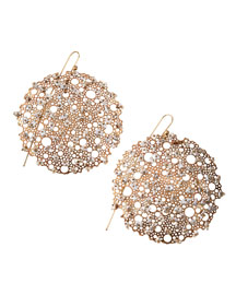 Queen Anne's Lace Pearl Earrings
