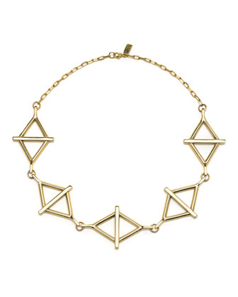 14k Multi-Balance Collar Necklace