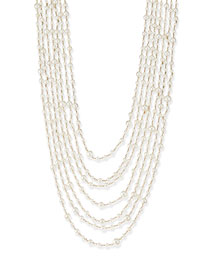 Pegaso River Pearl 7-Strand Necklace