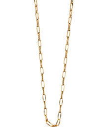 18K Yellow Gold Belcher Chain Necklace, 30